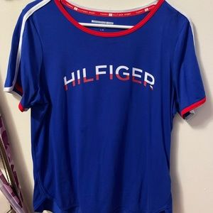 Blue Tommy Hilfiger shirt